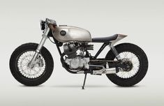 Riding around town in style. Honda CB250 Cafe Racer Pentagon by Classified Moto #caferacer #motorcycles #motos | caferacerpasion.com