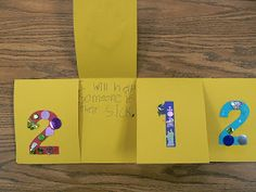Activity: 4 Things We Can Do to Make it a Good New Year (from Mrs. T's First Grade Class)