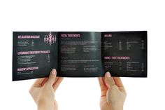 Hair Salon and Spa Brochure Template The best place to find how to have joyful life! http://myhealthplan.net