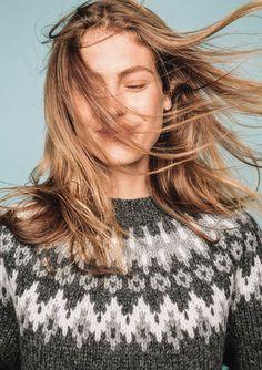 Girls Sweaters, Cozy Sweaters, Norwegian Knitting, Icelandic Sweaters, Fair Isle Pattern, Ikon, Ravelry, Knitting Patterns, Dreadlocks