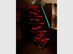 Une main courante encastrée pour gagner de la place - Escalier AERO
