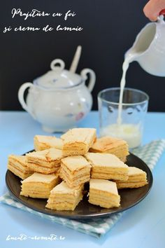 Cream Cake, Food Inspiration, Cookie Recipes, Cereal, Diy And Crafts, Dairy, Sweets, Cheese, Cookies