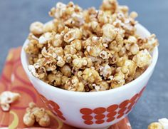 Old Fashioned Kettle Corn: Everyone knows popcorn's a good diet snack—but homemade kettle corn? Now that's a treat! This recipe will work with any type of popcorn, but air-popped has the fewest calories.