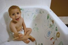25 Things to do with a Wiggly Toddler Boy (other than get frustrated)     Put him in an empty bath tub, give him water colors and let him go.  2. Put rice in a cake pan and let him pour from cup to cup.  3. Put him outside everyday regardless of weather.  4. Give him a small spray bottle of water and a rag. Set him loose on the fridge front, bathroom tile, linoleum, etc.  5. Make homemade play dough; give him a rolling pin.  6. W...