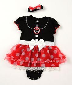 Disney Cuddly Bodysuit™ MINNIE MOUSE Costume Set #DisneyBabyPackNPin