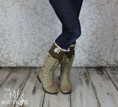 Hey, I found this really awesome Etsy listing at https://www.etsy.com/listing/173300100/boot-cuffs-lace-ruffle-boot-cuffs