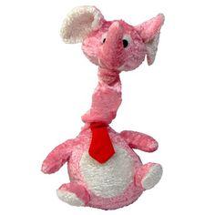 Brinquedo De Pelúcia com Som de Elefante Pet Fit - MeuAmigoPet.com.br #petshop #cachorro #cão #meuamigopet