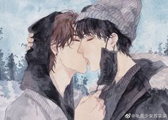 - Manga Love, Shounen Ai, Fashion Sketches, Cute Boys, Manhwa, Fan Art, Draw, Meme, Painting