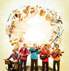 """""""There's chemistry in the violinist's classical touch and Lebanese ancestry and the guitarist's feel for rumba-flamenco grooves and jazz or rock jams. Today touches of Celtic, Gypsy jazz, Klezmer music and other influences fill out the mix… Symphony! manages to swing very nicely and the orchestra doesn't sound like aural wallpaper for the band."""" ~ Edmonton Journal"""