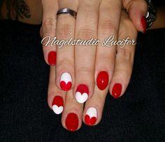 Rot/Weiß/Herzen