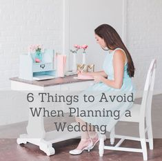 6 Things to Avoid When Planning a Wedding #groovingourmets #weddingplanning