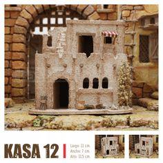 KASAS BELEN Nativity House, Sweet Home, Villas, Portal, Scene, Home Decor, Christmas Pictures, Decoration Home, House Beautiful