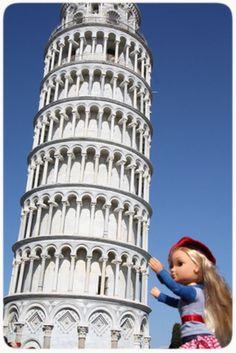 Tower of Pisa! #Nancy #dolls #muñecas #poupées #juguetes #toys #bonecas #bambole #Italy #Tuscany