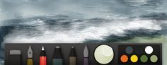 Mastering Paper by 53: Drawing Water and Waves