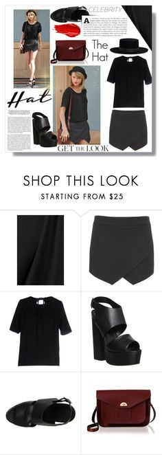 """""""Get The Look - Hat Edition: Taylor Swift"""" by sheetal2002 ❤ liked on Polyvore featuring Alexander McQueen, maurices, Grace & Mila, Office, The Cambridge Satchel Company, Janessa Leone, Urban Decay, Whiteley, GetTheLook and hats"""