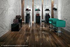 Revestimento de pisos/paredes de grés porcelânico com efeito de madeira ETIC PRO – PORCELAIN TILES WOOD LOOK Coleção Grés porcelânico by Atlas Concorde