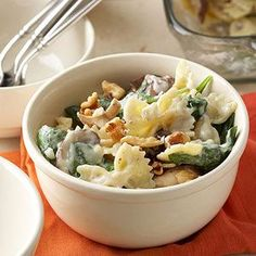 Macaroni with Mushrooms and Blue Cheese From Better Homes and Gardens, ideas and improvement projects for your home and garden plus recipes and entertaining ideas.