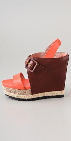 Rebecca Minkoff  Marie Platform Wedge Sandals  Style #:RMINK40791  $350