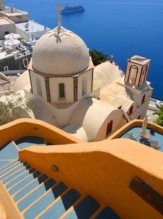 Amazing colors #Santorini #Greece