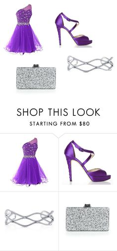 """""""Sin título #162"""" by resentida on Polyvore featuring moda, Brian Atwood, BERRICLE y Edie Parker"""