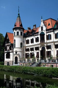 An old castle in the town of Zlin, Morovia | Czech Republic