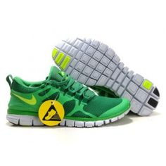 Nike Free Run 3.0 Yellow 2012 V3 Men Shoes Green Yellow
