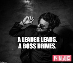 Choose a boss that's a leader, and you'll also be successful. Find your next boss here 👉 FindPrimeJobs.com  #BossQuotes #Leader #JobSearch #JobHunt #PrimeJobs #TopJobs #BestJobs #Recruitment #HR #Employment #JobSearchWebsite #JobBulletin #FindPrimeJobs Job Quotes, Job Search, Good Job, Proverbs, Einstein, Finding Yourself, Boss, Success, Idioms