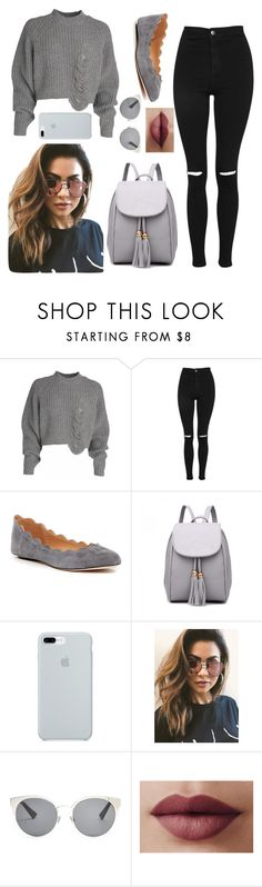 """Untitled #63"" by queenasma27 ❤ liked on Polyvore featuring Topshop, Ciao Bella, ETUÍ, MINKPINK and Christian Dior"