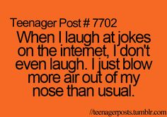 Haha that is so true!<-- I just did it right now
