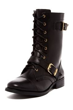 Feisty Lace-Up Boot