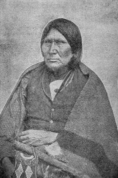 Comanche Indians: Chief Horse Black - Comanche Tribe