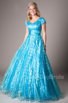 Modest Prom Dresses : Bailey SALE
