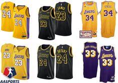 Camisa los Angeles lakers - 23 LeBron James - 24 kobe bryant - 32 Magic  Johnson 346a1875199