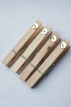 Glue tacks to clothespins to hang student work on bulletin boards. Makes it SO easy to switch out work. Could even paint clothes pins to match bulletin board theme Classroom Organisation, Classroom Design, School Organization, School Classroom, Organization Hacks, Classroom Management, Classroom Decor, Studio Organization, Primary Classroom