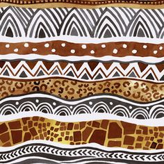 65 trendy african art for kids pictures Ethnic Patterns, Textile Patterns, Textile Design, African Patterns, Japanese Patterns, Floral Patterns, Animal Patterns, Art Patterns, Design Art