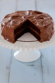 Classic Chocolate Layer Cake | Annie's Eats - frosting is great not too sweet, which I kike, but very time consuming. It's delicious, but there are many easier recipes with great taste.