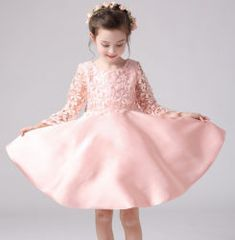 Cheap european girls dresses, Buy Quality girls dress directly from China princess dress Suppliers: 2017 spring and summer high-end European girls dress baby girl embroidered princess dress kids girls cotton ribbons dress Flower Girls, Princess Flower Girl Dresses, Princess Dress Kids, Little Girl Dresses, Pink Dresses For Kids, Party Dresses For Women, Girls Dresses, Princesse Party, Tutu Rose