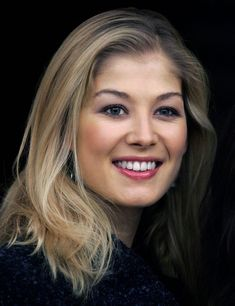 Rosamund Pike, such an interesting, pretty face.
