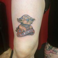 star wars yoda tattoo-1