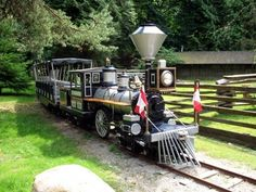 Stanley Park Miniature Train in Vancouver BC