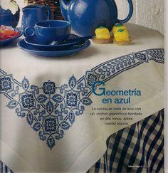 Bom dia a todos! Mais gráficos para toalhas de mesa. Gosto muito dos modelos postados no BLOG, tenho vontade de fazer todos... ...
