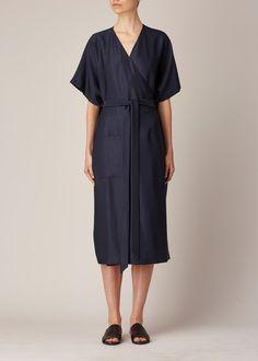 Suzanne Rae Three-Way Kimono (Blue / Black)