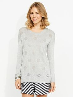 Shop the perfect knitwear pieces from Portmans including chic cardigans, cosy roll necks and stylish jumpers. Buy now, pay later with Afterpay. Grey Sweater, Knitwear, Tunic Tops, Knitting, Blouse, Sweaters, Stuff To Buy, Clothes, Shopping