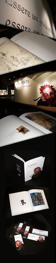 Possenti - art book and communication by Daniela Rota, via Behance