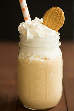 Fluffernutter Milkshake just like at Burgatory!!!