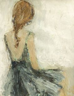 Romantic painting of girl in teal dress by Holly Irwin Painting Of Girl, Painting People, Figure Painting, Contemporary Mixed Media Art, Romantic Paintings, Prophetic Art, Artist Art, Art And Architecture, Figurative Art