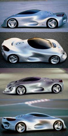 PLASMA designed by miGUEL HERRANZ 1995 - cardesign - car
