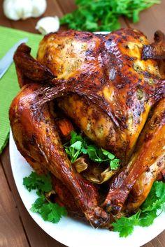 Latin-Style Turkey With Mojo and Sazón Achiote