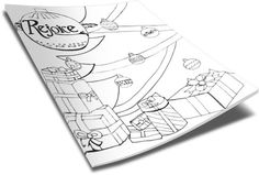Christmas Coloring Page - Ornaments