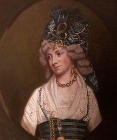 ca. 1794 Anne Templer (d.1832), Lady De la Pole by ? (Antony House - Torpoint, Cornwall, UK)